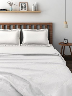 Raymond Plain Double Quilts & Comforters White(Quilt)