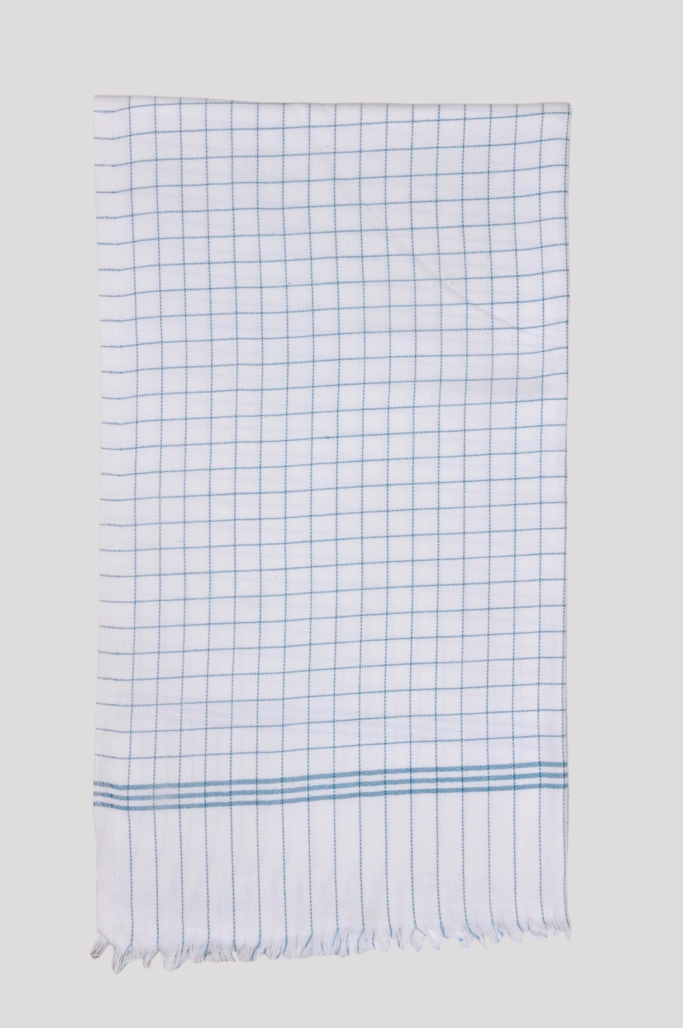 Jass Home Decor Checkered Single Blanket White, Green(AC Blanket, Set of 1 Blanket)