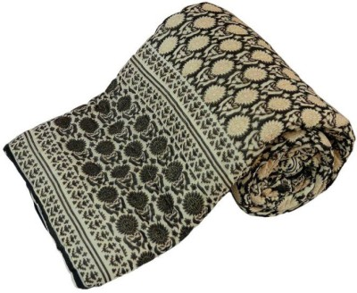 Sudharaj Paisley Single Blanket Beige