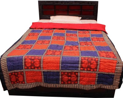 Indigocart Floral Single Quilts & Comforters Multicolor