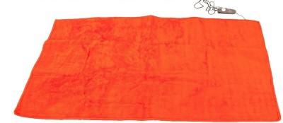 Jsb Plain Single Electric Blanket Orange