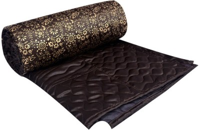 Rangasthali Floral Double Quilts & Comforters Brown