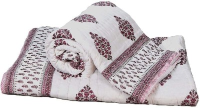 Me Home Damask Double Quilts & Comforters Brown