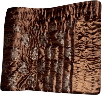 Bagru Crafts Animal Single Quilts & Comforters Brown