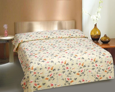 CURL UP Printed Single Top Sheet Multicolor