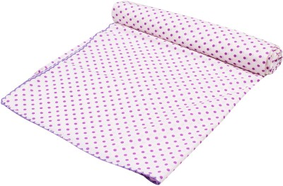Ole Baby Polka Crib Swadding Baby Blanket Pink