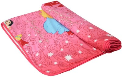 Shri Abha Emporium Cartoon Double Blanket Multicolor