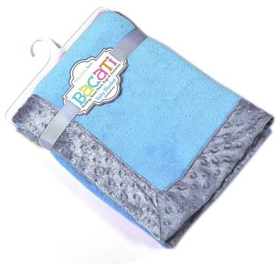 Bacati Plain Single Blanket Multicolor