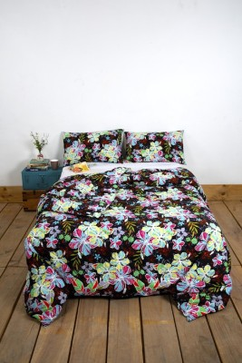 Ocean Homestore Floral Double Quilts & Comforters Multicolor