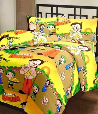 FINCH FEATHER Cartoon Single Dohar Multicolor