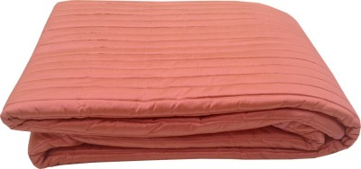 Milano Home Striped Single Quilts & Comforters Pink