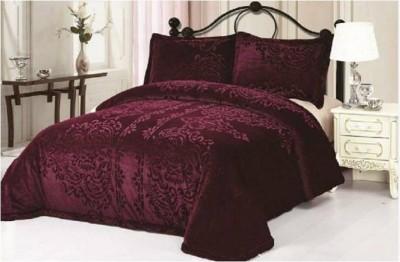 Wrap Plain Single Quilts & Comforters Purple