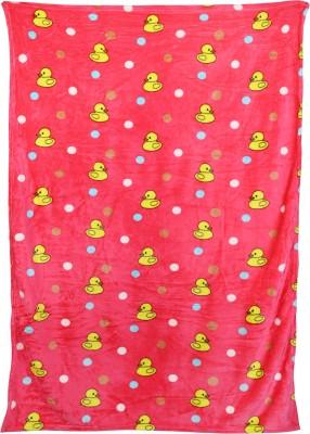 Crazeis Cartoon Single Quilts & Comforters Pink