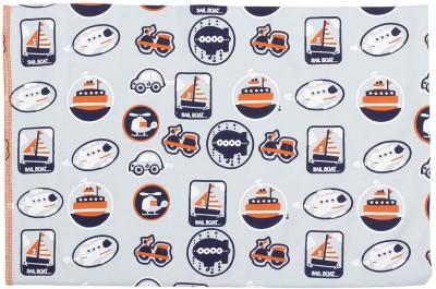 Nino Bambino Printed Single Blanket Natural