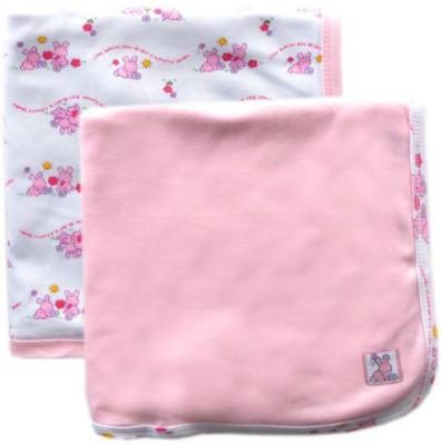 Luvable Friends Printed Single Blanket Pink