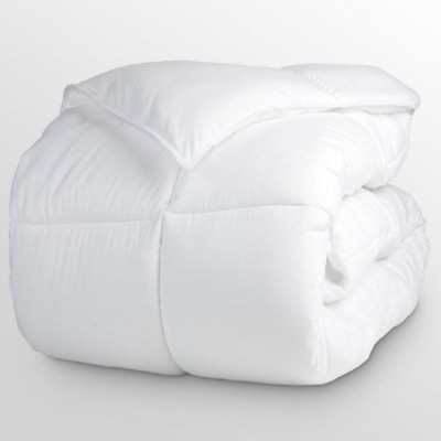 Iwonder Plain King Quilts & Comforters White