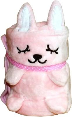 Meded Plain Single Blanket Pink