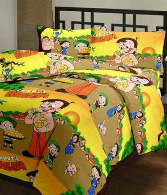 5 Second Cartoon Single Dohar Multicolor(AC Dohar, Blanket)