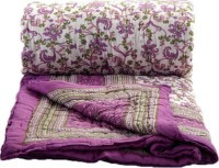 Marwal Floral Single Quilts & Comforters MultiColour(1 Quilt)