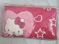 Aayra Cartoon Double Blanket Pink