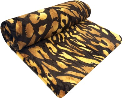 Indian Heritage Animal Double Quilts & Comforters Brown