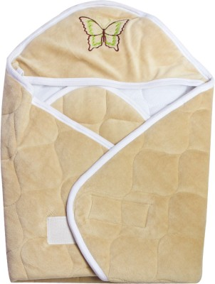 Quick Dry Checkered Single Top Sheet Beige