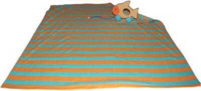 Honey Bunny Collectible Wood Toy with Fleece Blanket