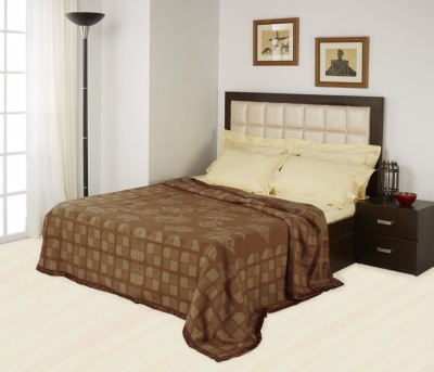 Raymond Home Abstract Double Quilts & Comforters Brown