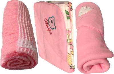 My NewBorn Cartoon Single Blanket Pink