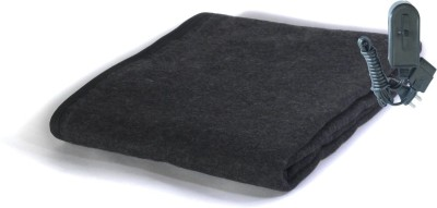 Winter Care Plain Single Electric Blanket Black