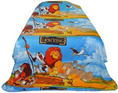Flourish Cartoon Single Quilts & Comforters Multicolor