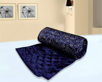 Easy Clean Floral Double Quilts & Comforters Blue