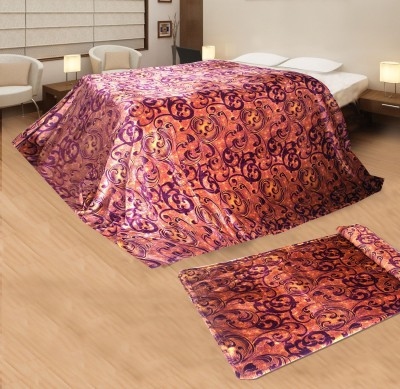Aapno Rajasthan Abstract Single Blanket Multicolor