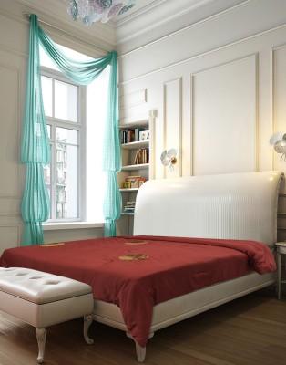 Needlecrest Plain Double Quilts & Comforters Maroon, Brown