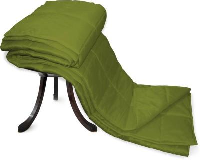 Zikrak Exim Plain Single Dohar Green