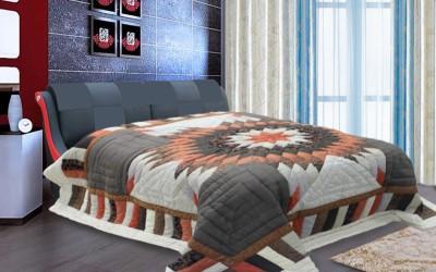 R home Geometric Double Quilts & Comforters Multicolour