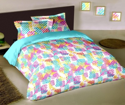 Raymond Home Abstract Double Quilts & Comforters Blue