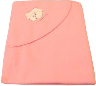 Baby Basics Plain Single Blanket Pink