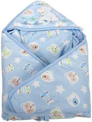 MeeMee Printed Single Blanket Blue