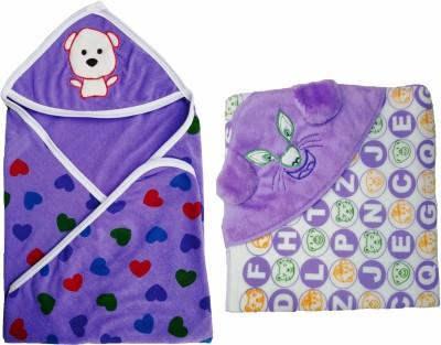 Brandonn Polka Single Blanket Purple