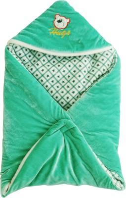 My NewBorn Abstract Single Blanket Green