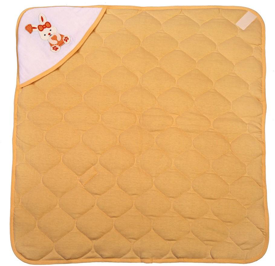 Brim Hugs & Cuddles Self Design Crib Hooded Baby Blanket Beige(1 Hooded Baby Blanket)