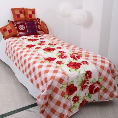 Smile2u Retailers Floral Single Quilts & Comforters Multicolor