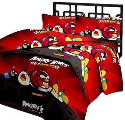 Renown Cartoon Single Blanket Red