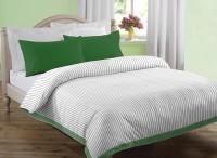 Dreamscape Striped Double Blanket Off White(AC Blanket, One Double Blanket)