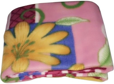 Galaxy Floral Single Blanket Multicolour