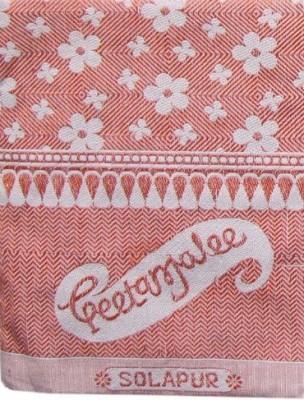 Geetanjalee Floral Single Top Sheet Red