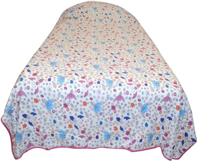 Indian Rack Floral Single Dohar, Quilts & Comforters Blue, Pink