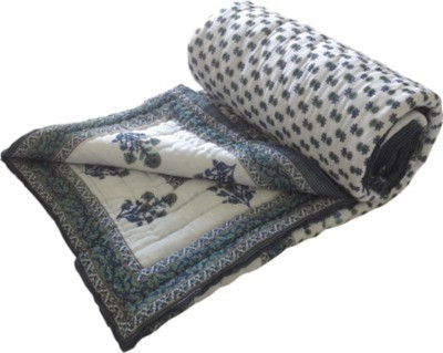 Gruvi Enterprises Self Design Double Quilts & Comforters Multicolor