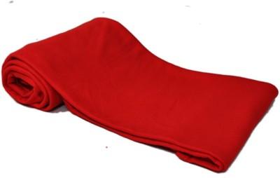 Divine Plain Single Blanket Red